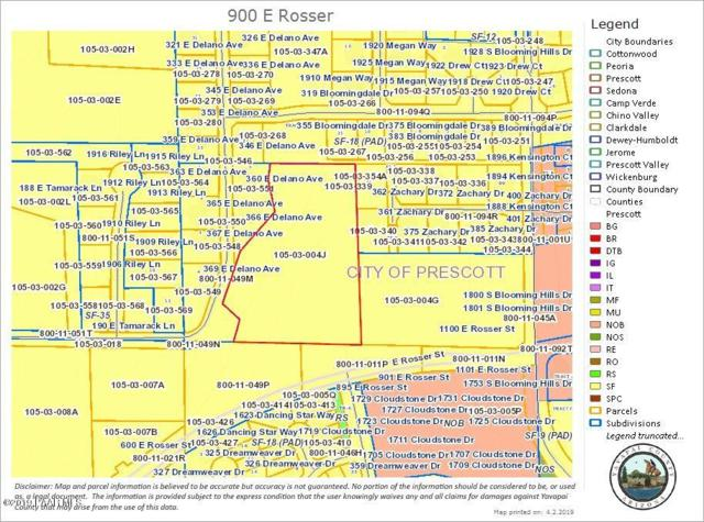 900 E Rosser Street, Prescott, AZ 86301 (#1019774) :: Shelly Watne