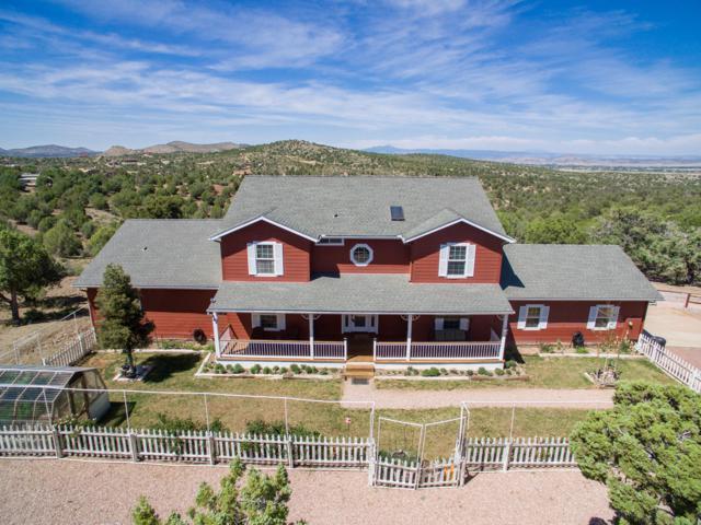 4040 Brenda Trail, Prescott, AZ 86305 (#1022058) :: Shelly Watne
