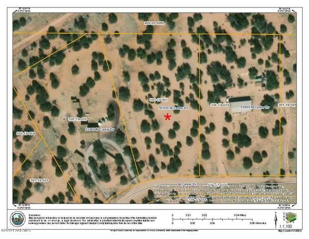 53930 N Cedar Drive, Seligman, AZ 86337 (#1023769) :: Shelly Watne