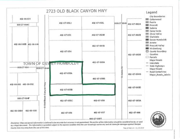 2723 Old Black Canyon Highway, Dewey-Humboldt, AZ 86327 (#1025925) :: HYLAND/SCHNEIDER TEAM