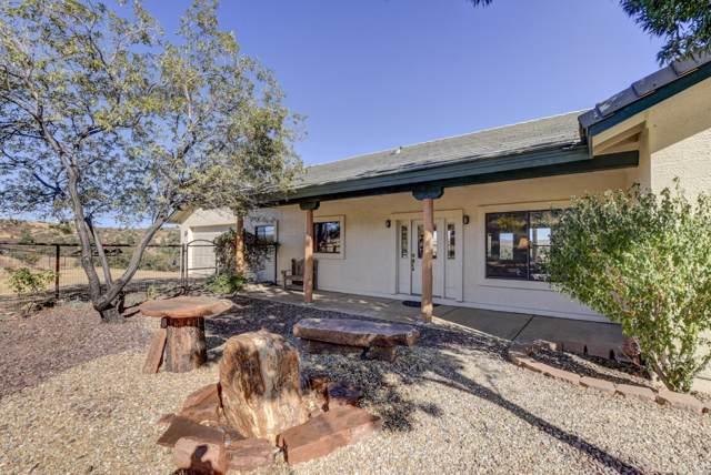 17802 S Oak Drive, Peeples Valley, AZ 86332 (#1027153) :: West USA Realty of Prescott