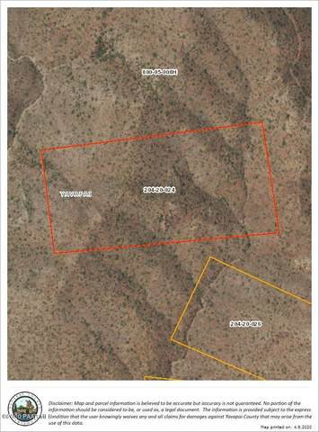 0 Un Named Road, Walnut Grove, AZ 86332 (#1028946) :: Shelly Watne