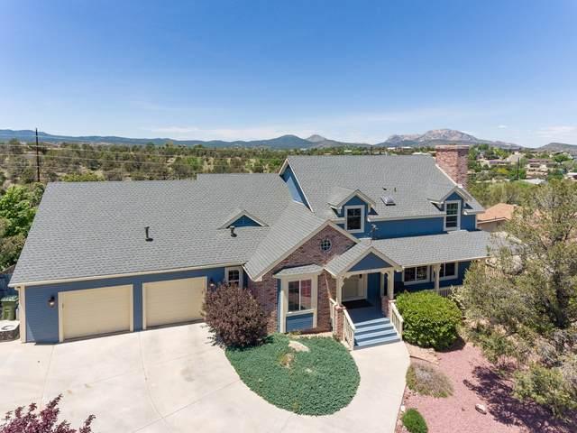1528 Eagle Ridge Road, Prescott, AZ 86301 (MLS #1029852) :: Conway Real Estate