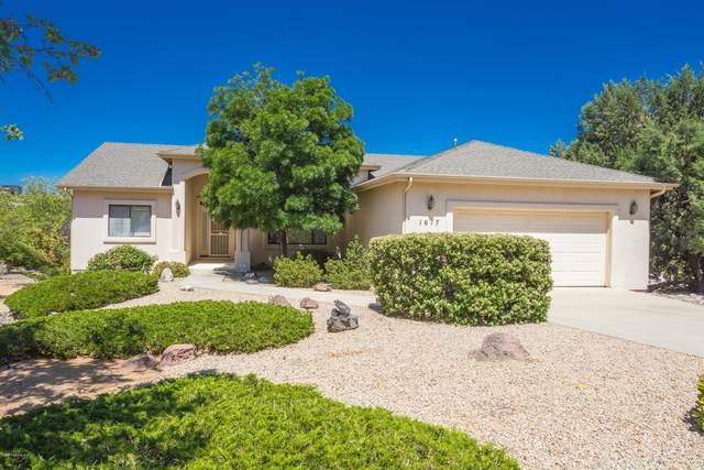 1617 Eagle Mountain Drive, Prescott, AZ 86301 (MLS #1029916) :: Conway Real Estate