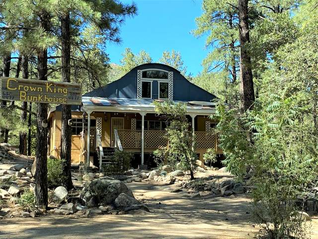 23578 S Gladiator Mine Road, Crown King, AZ 86343 (#1031110) :: West USA Realty of Prescott