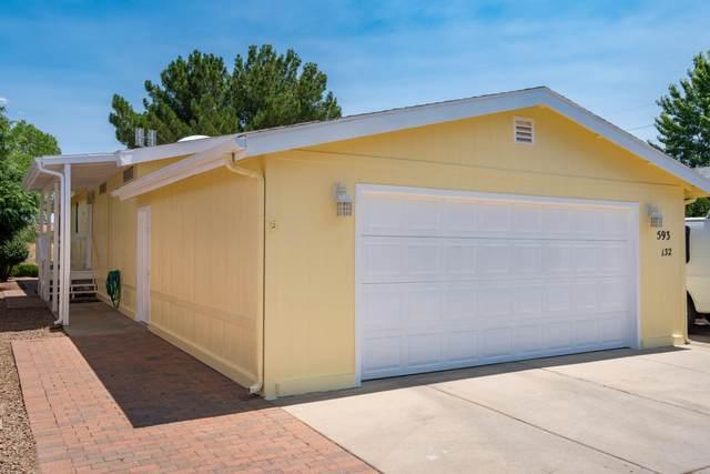 593 N Blue Spruce Drive, Prescott Valley, AZ 86314 (#1031756) :: West USA Realty of Prescott