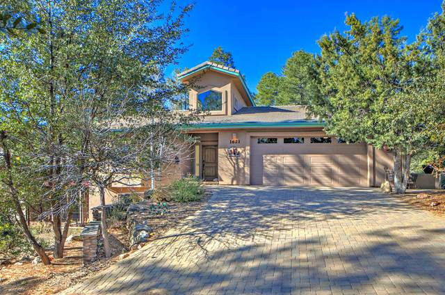 1621 Spruce Canyon Drive, Prescott, AZ 86303 (#1034306) :: Shelly Watne