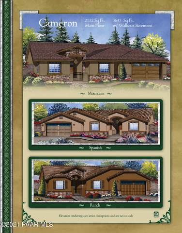 822 N Lakeview Drive, Prescott, AZ 86301 (#1037356) :: Shelly Watne