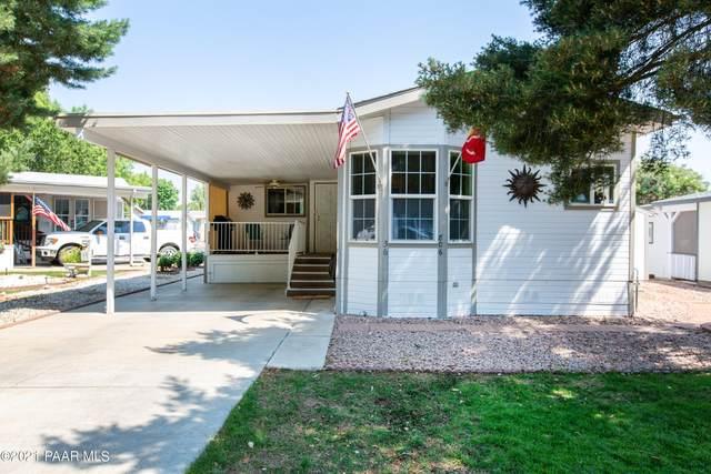 806 N Wild Walnut Drive, Dewey-Humboldt, AZ 86327 (#1039593) :: Shelly Watne