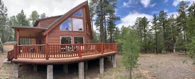 627 W Woodland Lake Road, Pinetop-Lakeside, AZ 85929 (#1040714) :: Shelly Watne