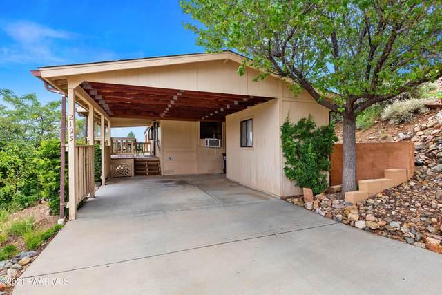 2195 Hillside Loop Road, Prescott, AZ 86301 (#1042200) :: Shelly Watne