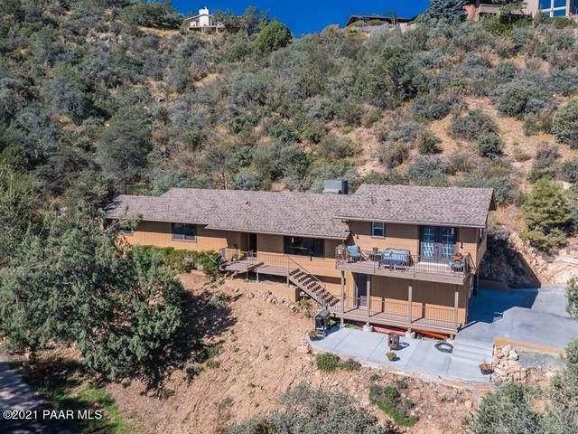 886 Vallejo Vista Road, Prescott, AZ 86303 (#1042275) :: Shelly Watne