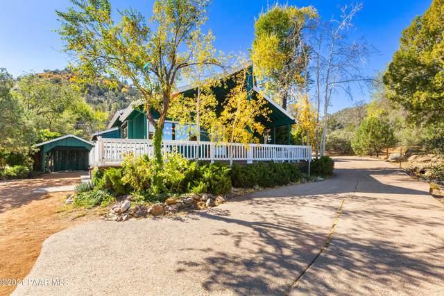 2121 W Thumb Butte Road, Prescott, AZ 86305 (#1043116) :: Shelly Watne