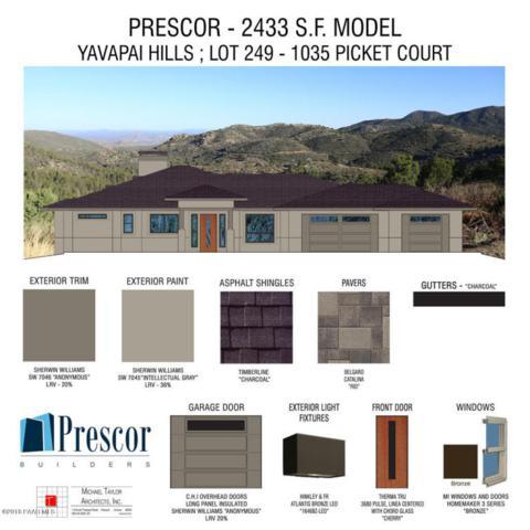 1035 Picket Court, Prescott, AZ 86301 (#1011160) :: HYLAND/SCHNEIDER TEAM