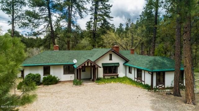 1500 E Friendly Pines Road, Groom Creek, AZ 86303 (#1020983) :: Shelly Watne
