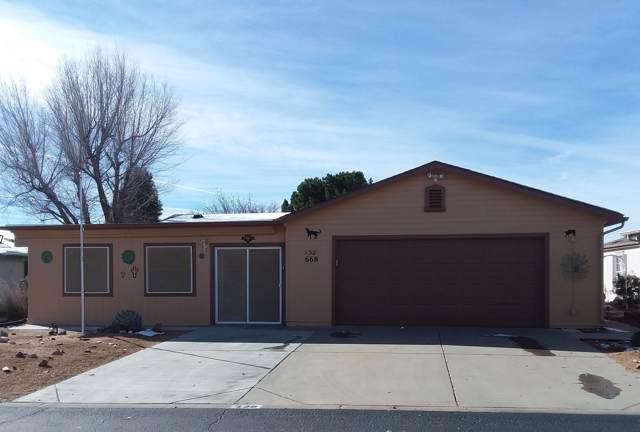 668 N Blue Spruce Drive, Prescott Valley, AZ 86314 (#1025729) :: West USA Realty of Prescott