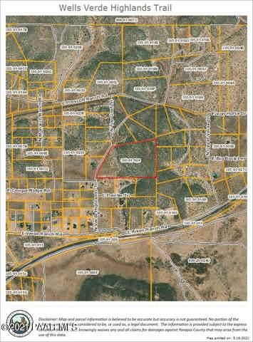 0 N Verde Highlands Trail, Paulden, AZ 86334 (MLS #1038855) :: Conway Real Estate