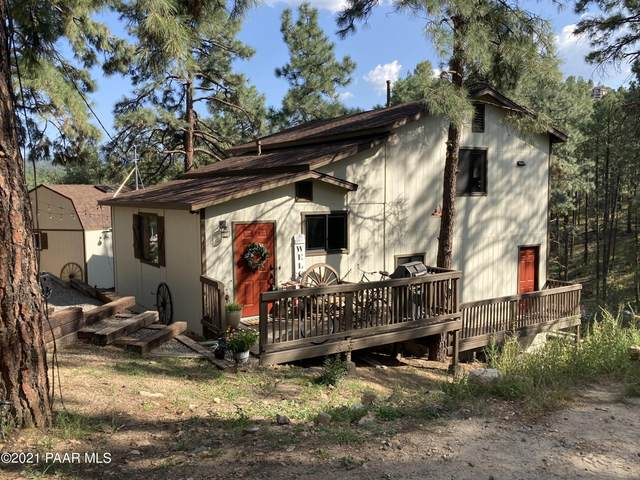 711 W Vista Way, Prescott, AZ 86303 (#1041987) :: Shelly Watne