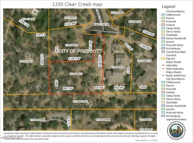 1330 Clear Creek, Prescott, AZ 86305 (#989692) :: HYLAND/SCHNEIDER TEAM