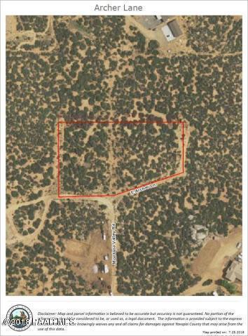 0 Archer Lane, Dewey-Humboldt, AZ 86327 (#1016380) :: HYLAND/SCHNEIDER TEAM