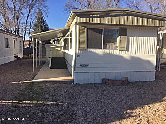 837 Division Street #30, Prescott, AZ 86301 (#1019626) :: Shelly Watne