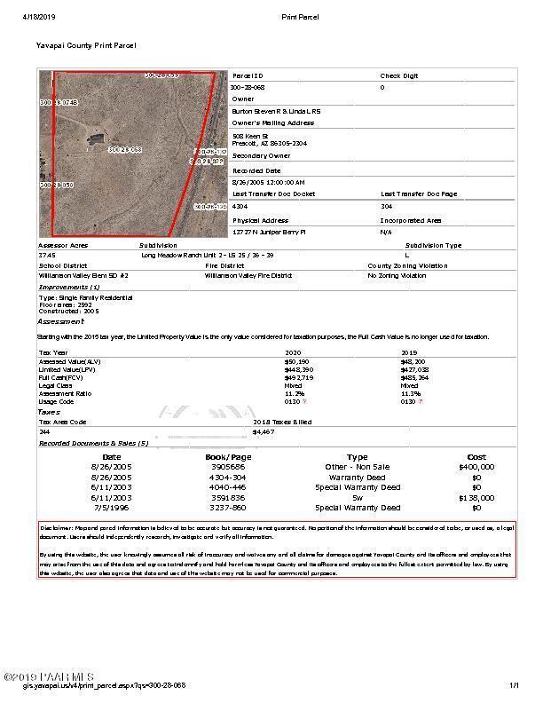 13727 Juniper Berry Place, Prescott, AZ 86305 (#1020305) :: Shelly Watne