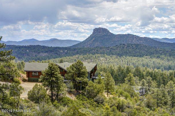 5151 W Lonesome Hawk Drive, Prescott, AZ 86305 (#1021625) :: Shelly Watne