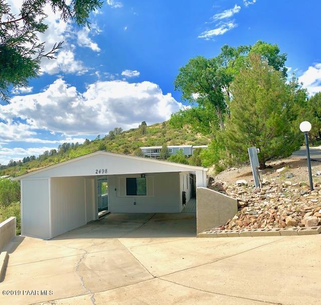 2498 Hilltop Road, Prescott, AZ 86301 (#1022090) :: West USA Realty of Prescott
