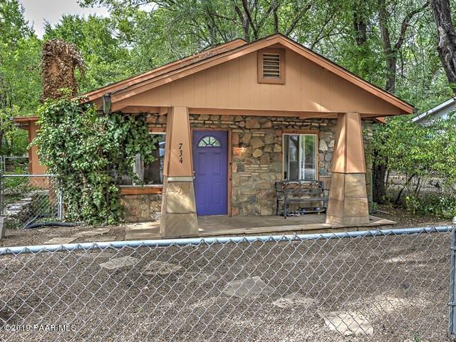 734 Lincoln Avenue, Prescott, AZ 86301 (#1022697) :: West USA Realty of Prescott