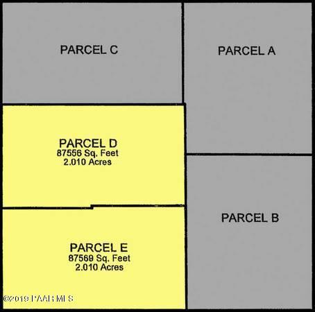 0 N Poquito Valley Rd. Parcel D, Prescott Valley, AZ 86315 (#1022782) :: West USA Realty of Prescott