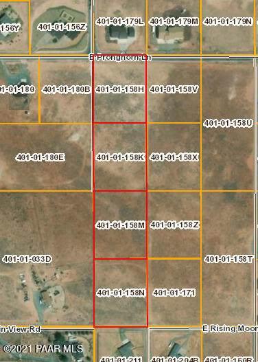 7a Lot #2 E Pronghorn Lane Lane, Prescott Valley, AZ 86315 (MLS #1039319) :: Conway Real Estate