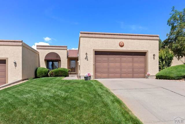 45 W Glenrose Dr, Pueblo West, CO 81007 (MLS #181861) :: The All Star Team of Keller Williams Freedom Realty