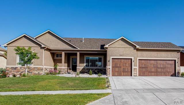 5637 Maggiano Pl, Pueblo, CO 81005 (MLS #181954) :: The All Star Team of Keller Williams Freedom Realty