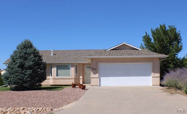 289 S Spaulding Ave South, Pueblo West, CO 81007 (MLS #182197) :: The All Star Team of Keller Williams Freedom Realty