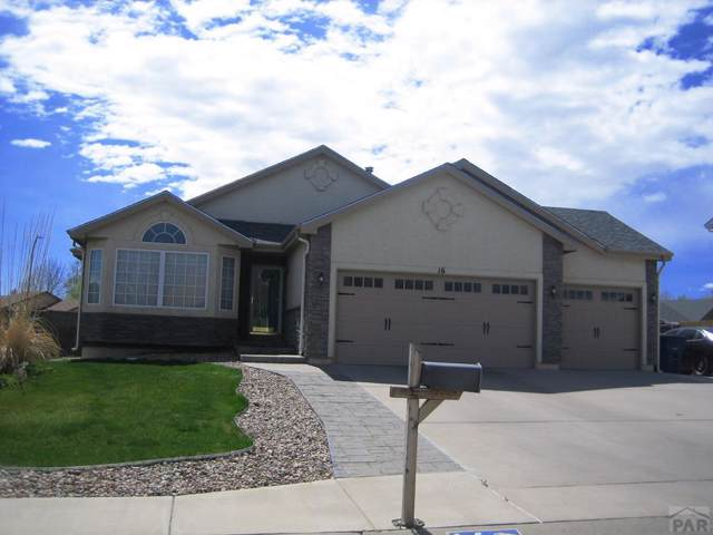 16 Posada Dr, Pueblo, CO 81005 (MLS #182434) :: The All Star Team of Keller Williams Freedom Realty
