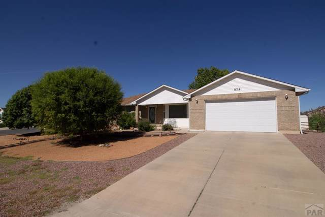 579 W Hook Dr, Pueblo West, CO 81007 (MLS #182446) :: The All Star Team of Keller Williams Freedom Realty