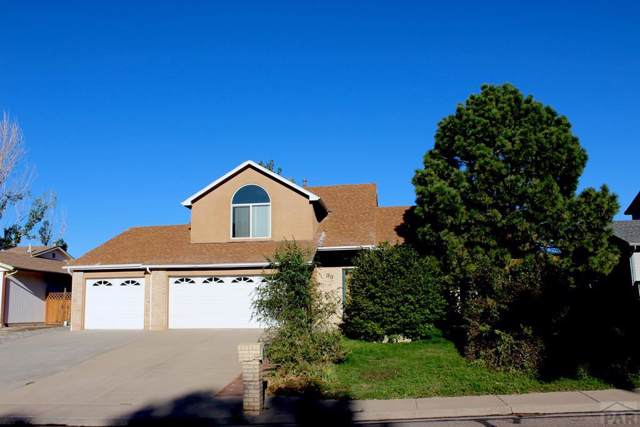 33 Ironweed Dr, Pueblo, CO 81001 (MLS #182661) :: The All Star Team of Keller Williams Freedom Realty