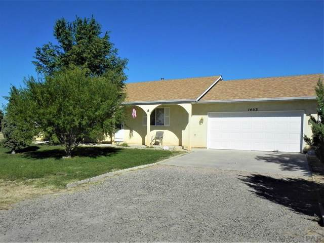 1453 W Camino Pablo Dr, Pueblo West, CO 81007 (MLS #182705) :: The All Star Team of Keller Williams Freedom Realty