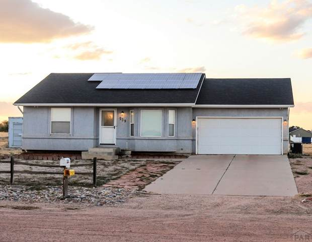 539 S Saunders Dr, Pueblo West, CO 81007 (MLS #182708) :: The All Star Team of Keller Williams Freedom Realty