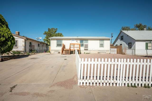 1409 E Ash St, Pueblo, CO 81001 (MLS #182718) :: The All Star Team of Keller Williams Freedom Realty