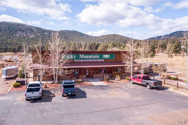 1760 E Hwy 24, Woodland Park, CO 80863 (MLS #183022) :: The All Star Team of Keller Williams Freedom Realty