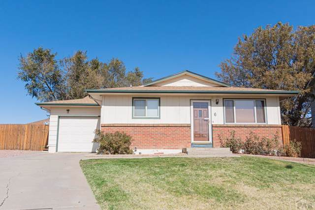 6 Plymouth Circle, Pueblo, CO 81003 (MLS #183180) :: The All Star Team of Keller Williams Freedom Realty