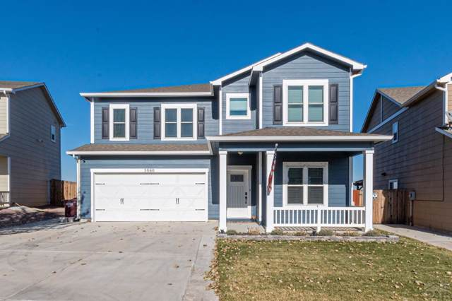 5060 Buchanan Dr, Pueblo, CO 81008 (MLS #183301) :: The All Star Team of Keller Williams Freedom Realty
