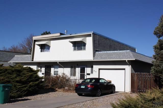 45 Apollo Lane, Pueblo, CO 81001 (MLS #183333) :: The All Star Team of Keller Williams Freedom Realty