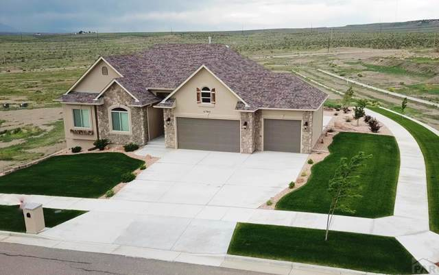 4793 Desert Candle Dr, Pueblo, CO 81001 (MLS #183494) :: The All Star Team of Keller Williams Freedom Realty