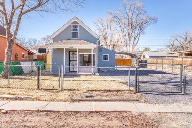 1209 Beulah Ave, Pueblo, CO 81004 (MLS #183848) :: The All Star Team of Keller Williams Freedom Realty