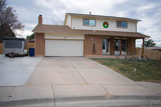 1102 Candytuft Ct, Pueblo, CO 81001 (MLS #183889) :: The All Star Team of Keller Williams Freedom Realty
