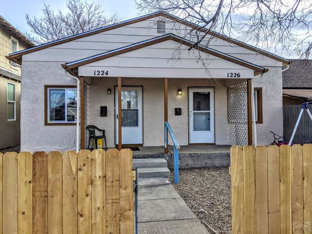 1224 E Spruce St, Pueblo, CO 81004 (MLS #183951) :: The All Star Team of Keller Williams Freedom Realty