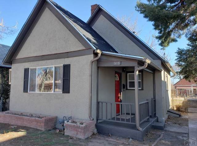 1418 Spruce St, Pueblo, CO 81004 (MLS #183989) :: The All Star Team of Keller Williams Freedom Realty