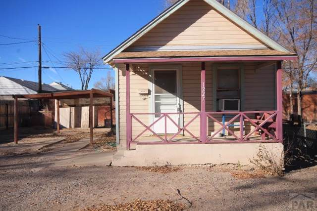 1227 Euclid Ave, Pueblo, CO 81004 (MLS #184073) :: The All Star Team of Keller Williams Freedom Realty